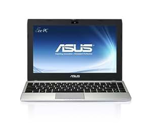 """ASUS 1225B-SU17-SL 11.6"""" LED Dual Core E450 (1.65GHz) 4 GB DDR3 320 GB HDD 64-bit Windows 7 Home Matte Silver Notebook"""