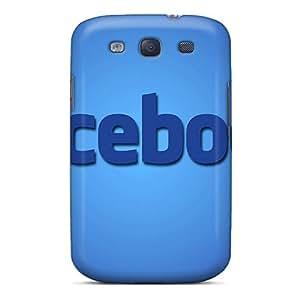 Galaxy Cover Case - Facebook Protective Case Compatibel With Galaxy S3
