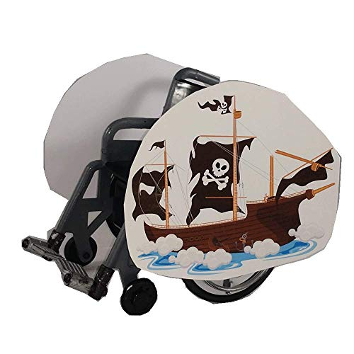Pirate Ghost Ship Wheelchair Costume Child's ()