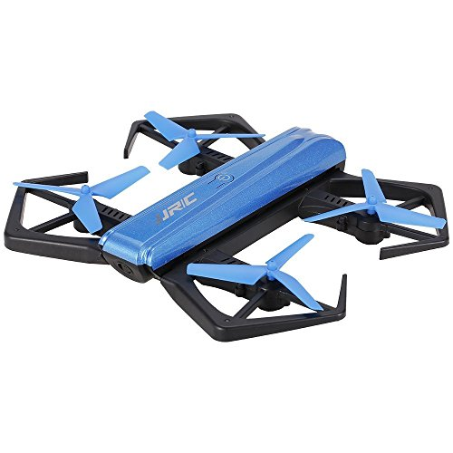 JJRC Drone H43WH Crab Plegable - Cámara HD WiFi de 2MP 720p con Transmisión en Vivo, Beauty Mode, Control de Altitud, Vuelo Asistido por Sensor Gravitacional, Compatible con iOS y Android;