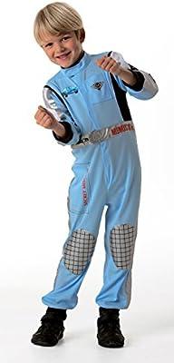 Cars 2 - Disfraz de Piloto Finn McMissile para niño, infantil 5-7 ...