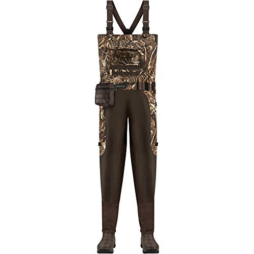 - Lacrosse Waders Aero Elite Breathable Mossy Oak Bottomland 7.0MM (715339)| Waterproof | Insulated Modern Comfortable Hunting Combat Boot Best for Mud, Snow (King = 13)