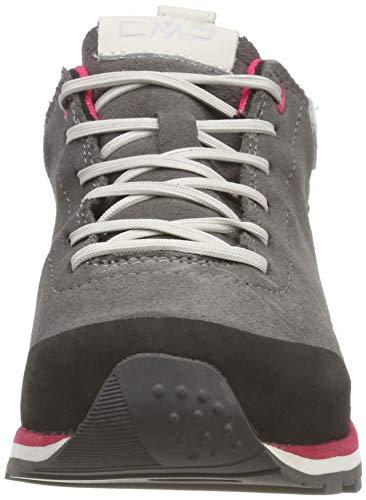 Rise Elettra Unisex Adults' Grey Low Grey CMP Boots Hiking U739 IORAqww
