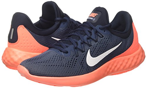 Uomo Obsidian Nike Running Trail helles Orange dunkel weiß Mango Blu Scarpe Blau Da squadron 855808 401 qqwHAY7