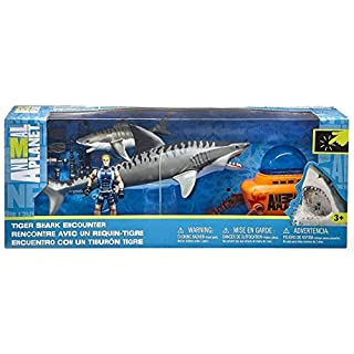 Blip Animal Planet Tiger Shark Encounter Playset