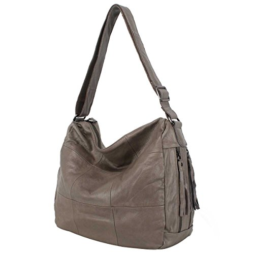 Borsa A Tracolla Borsa Di Moda Per Donna Semplice Messenger Bag Grey
