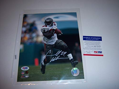 Cadillac Williams Tampa Bay Bucaneers PSA/DNA Autographed Signed 8x10 Photo - Certified Authentic ()