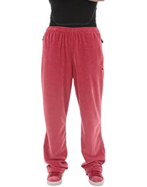 Men's Rosso Corsa Velour Pants