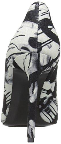 Multi Women's West Black Graphite Fabric Nine Dress Pump Tatiana W504wqaFHa