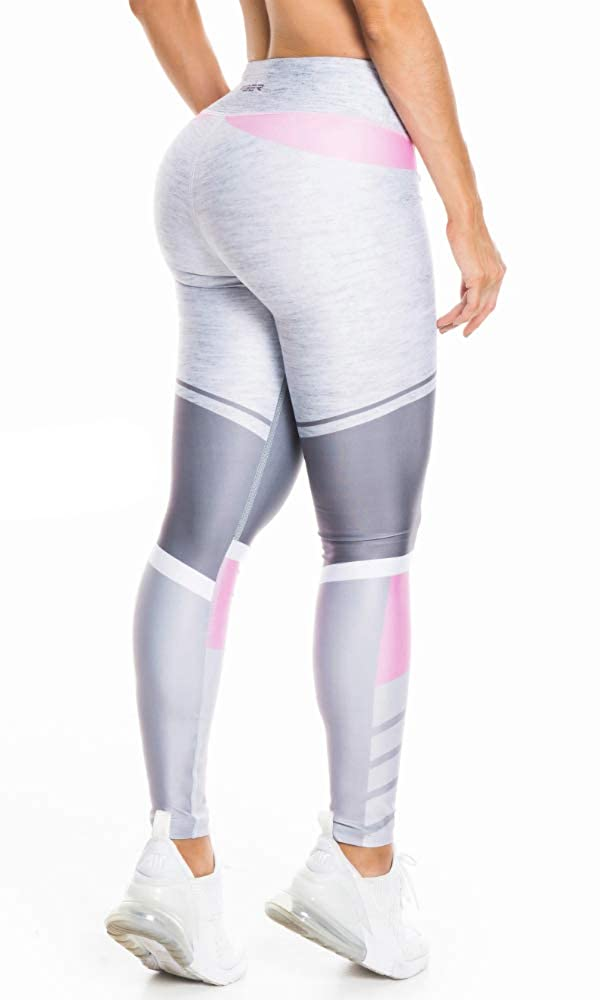 Fiber Colombian Activewear Printed Leggings Designs Gym Workout Tights