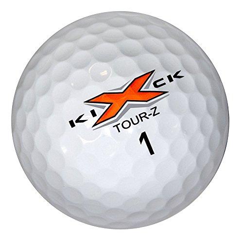 6 Dozen NEW Kick X Golf Tour Z Premium Golf Balls 72 Total - White by Kick-X (Image #2)
