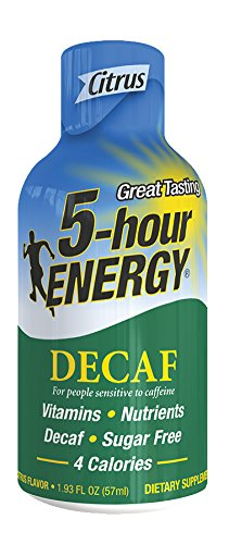 5-Hour ENERGY - Decaf Citrus - 12 Count