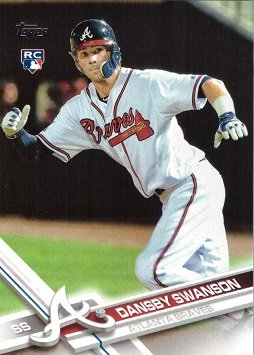 2017-topps-baseball-87-dansby-swanson-rookie-card-his-1st-official-rookie-card