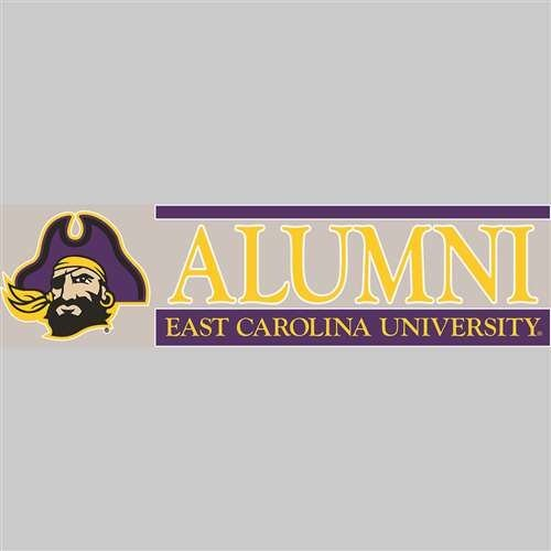 East Carolina University S40342 Window Decals
