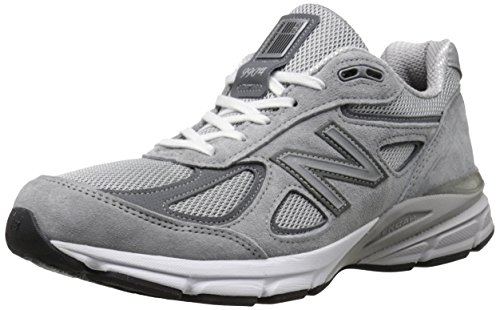 New Balance Men's M990V4 Running Shoe, Grey/Castle Rock, 10 D US