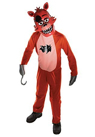 Five Nights At Freddy's 2 Foxy Costume (Evolution's Kids Five Nights at Freddy's Foxy Halloween Costume Medium)