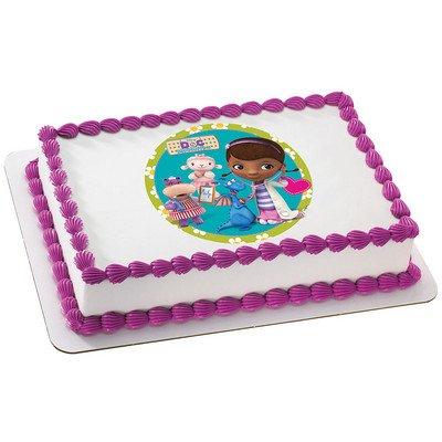 Doc McStuffins Licensed Edible Cake Topper -
