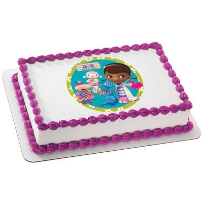 DecoPac Doc McStuffins Licensed Edible Cake Topper #35341