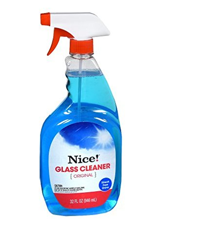 Clean 。NICE 。ガラスcleaner32.0オンス(5pk) B07D1PD2GF