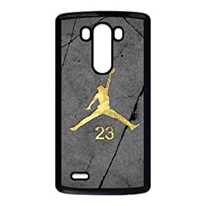LG G3 Phone Cases Black Jordan logo BOK490334