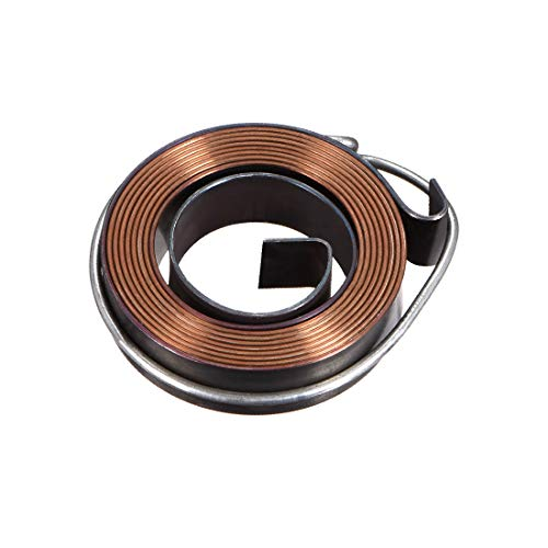 New uxcell Drill Press Return Spring, Quill Spring Feed Return Coil Spring Assembly, 3.3Ft Long, 39 x 10 x 0.8mm