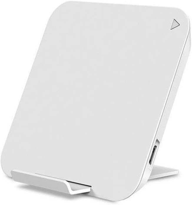 Color : White LALAWO Mobile Phone Fast Wireless Charger Bracket Folding for Apple iPhone X iPhone 8 iPhone 8 Plus Samsung Galaxy Note 8 S8 S8 Plus Charger
