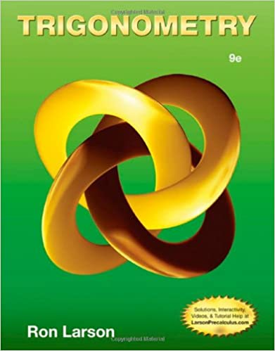 Amazon trigonometry 9781133954330 ron larson books trigonometry 9th edition fandeluxe Images