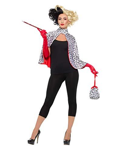 Devil Costumes For Womens (Smiffys Maddame Evil Kit Standard)