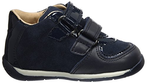 Geox B Each B, Zapatillas para Bebés Azul (Navy)