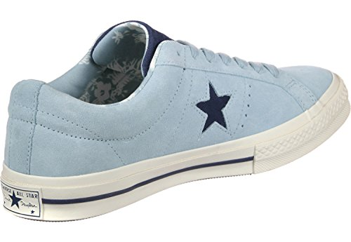Converse Mens One Star Ox Sneakers Ocean Bliss / Navy-egret