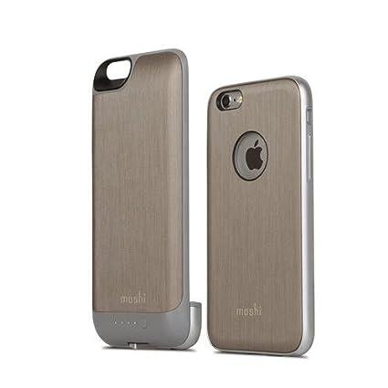 huge selection of e22bc fd963 Moshi iGlaze iPhone 6 Battery Case - Brushed Titanium: Amazon.in ...