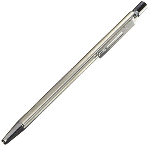 Pilot Birdy Stainless Steel Body Mini Ballpoint Pen, 0.7 mm, Black Ink (BS-40S-S) ()