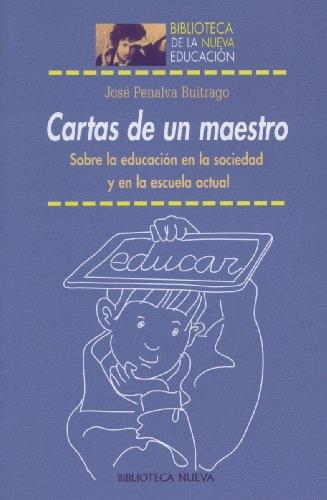 Amazon.com: Cartas de un maestro. Sobre la educación en la ...