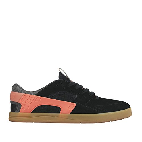 Nike SB Eric Koston Huarache Black Black Hot Lava Gum Light Brown Black Negro 42