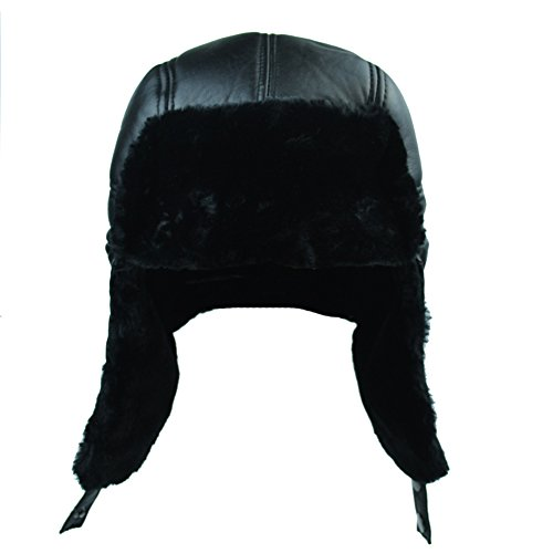 Bomber Leather Hat - 8