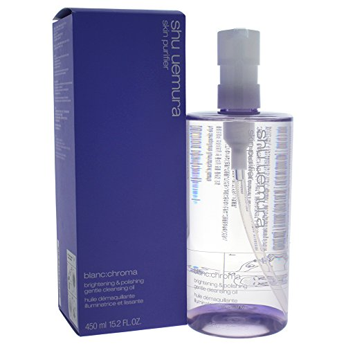 (Shu Uemura Blanc:chroma Brightening and Polishing Gentle Cleansing Oil, 15.2 Ounce)