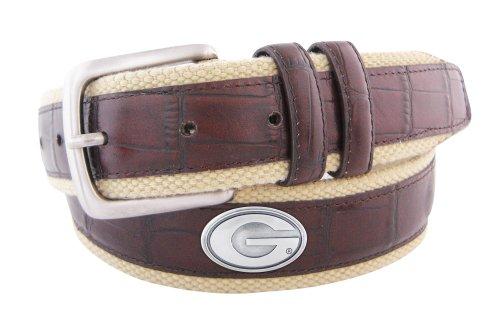 georgia bulldogs belt - 9