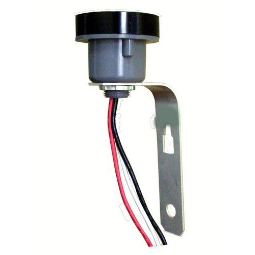 Morris 39072 Locking Style Receptacles for Twist Lock Photoeye, Aluminum Bracket Mount
