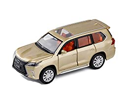 GYZS-TOY 1:32 Lexus LX570 Alloy Car Model Six Open Door Lexus Off-Road Vehicle Pull Back Sound and Light Toy Car from GYZS-TOY