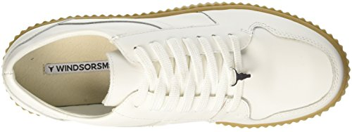 Windsor Smith Damen Oracle Sneaker Multicolore (Leather White Honey Sole)