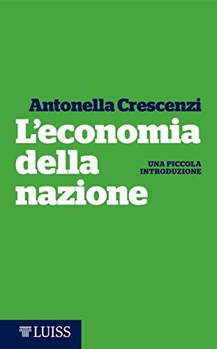 L'economia della nazione: Una piccola introduzione (Italian Edition)