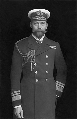 George V (1865-1936). /Nking Of Great Britain, 1910-36. Photographed C1909, Wearing His Naval Uniform. Poster Print by (18 x 24)