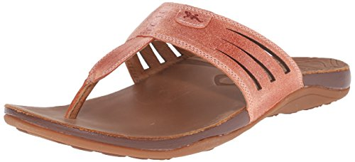 Chaco Womens Leather Flip Sandal - 1