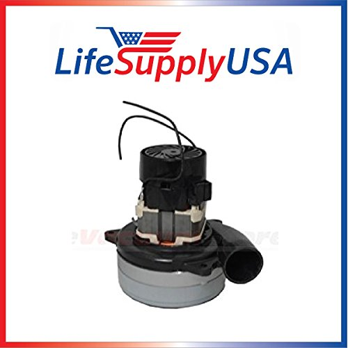 New Central Vac Vacuum Cleaner Motor Replaces Ametek Lamb 119631, 116210, 116420-13, 116474 and Most 5.7