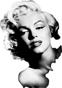 Monroe Truck Equipment >> Amazon.com: Marilyn Monroe Wall/Car Window Decal Sticker 7 ...