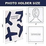 Passport Photo Holder Folders - 150 Pack - with