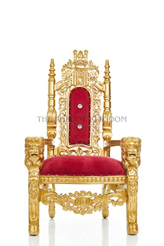 Mini King David Lion Throne Chair For Kids, Prince/Princess Throne For  Children Birthday Throne, Party Rentals, Children Photo Shoots, Kids  Furniture ...