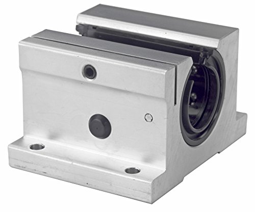 Thomson SSUPBO12, Pillow Block, Super, Open, for continuously supported applications, Adjustable, self-aligning; use with 0.75 in Diameter Shaft, Class L
