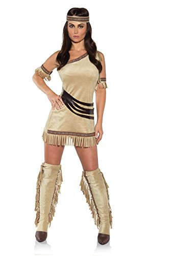 Under (Girls Tan Native Princess Indian Costumes)