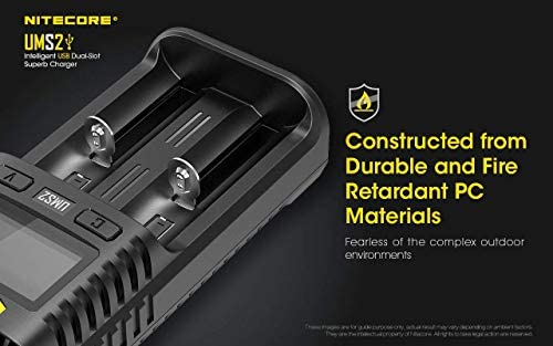 Electronics & Photo Battery Chargers gaixample.org Nitecore UMS2 ...